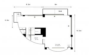 タキガワダンススクール池袋 フロア見取り図.jpg
